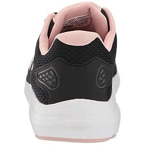 Under Armour Women's Surge 2 Running Shoe, Black (004)/White, 7