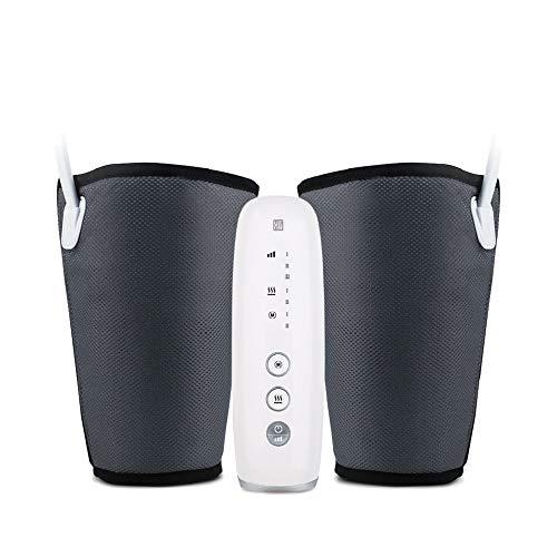 Hi5 10392 Venida Beine Massagegerät mit Wärmekompression Luftdruckmassage für Waden Füße Oberschenkel gegen Schwellung, 1000 g
