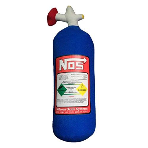 beiguoxia Creative Funny NOS Nitrous Oxide Flasche Tank Form Plüsch Überwurf Kissen für Auto Reise