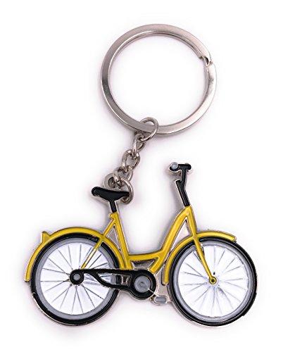 H-Customs Fahrrad Bike gelb Schlüsselanhänger Anhänger
