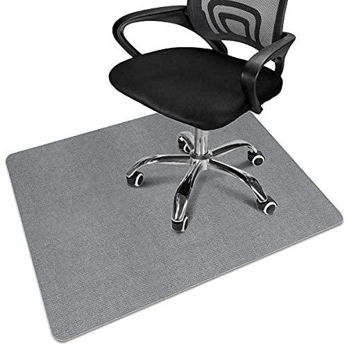 Estera de silla de oficina, estera de silla de escritorio para piso de madera dura, estera de silla de computadora para silla rodante, escritorio de pila baja con múltiples propósitos ...