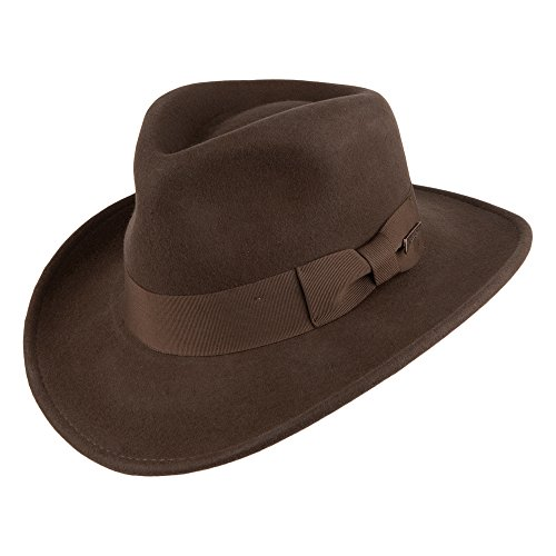 Village Hats Chapeau Fedora Indiana Jones - Large