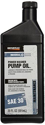 Generac 6656 Pressure Washer Pump Oil SAE 30, 20-Ounce