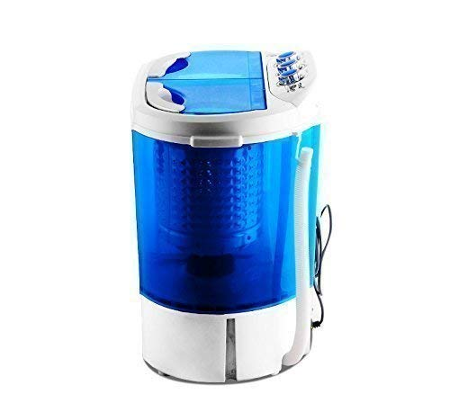 NEW TWIN TUB MINI PORTABLE 230V WASHING MACHINE FOR OUTDOOR GARDEN CAMPING SPIN DRYER