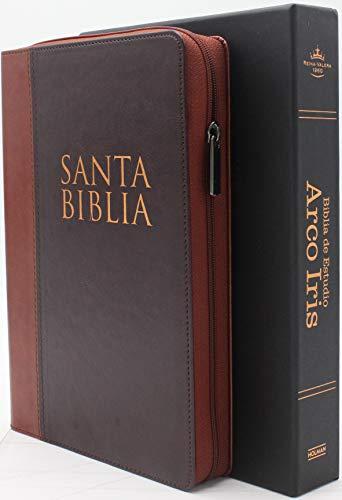 Compare Textbook Prices for Biblia de Estudio ArcoIris Cierre Reina Valera 1960 Indice Cafe con Caoba y Estuche para Protecion  ISBN 9781087739786 by Broadman & Holman Editorial Staff