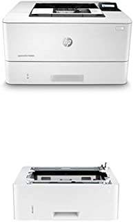 HP Laserjet Pro M404dn (W1A53A) with Additional 550-Sheet Feeder Tray (D9P29A)