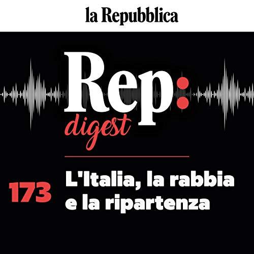 Couverture de L'Italia, la rabbia e la ripartenza