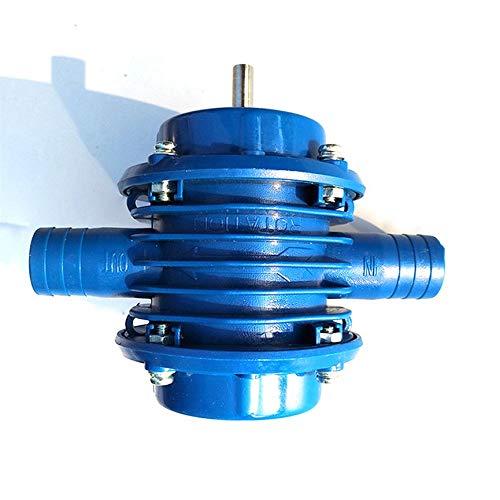 CNluca Hand Electric Drill Water Pump Mini Self-Priming Pump Dc Pump Self-Priming Centrifugal Pump Household Pump Blue