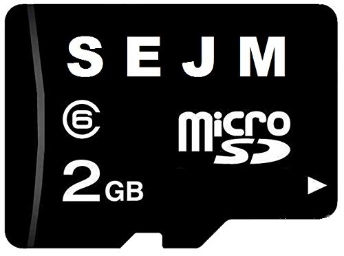 2GB Micro SD Memory Card with SD Adapter (2GB)