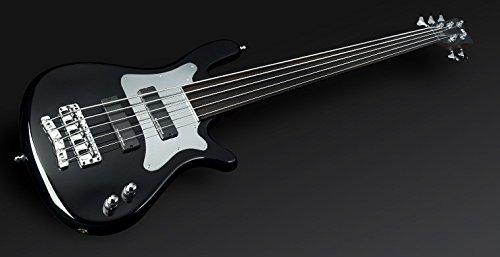 Rock Bass ral191523AA ALD FL al Steve Bailey (de 5string) HP Chrome Negro