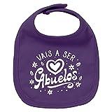 ClickInk Babero bebé Vais a ser abuelos. Regalos para bebés. Regalo divertido....