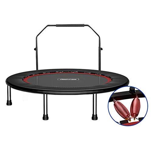 ZHAOJBC trampoline voor fitnessstudio, met verstelbare stang voor volwassenen en kinderen, 50 inch – maximale draagkracht 275 kg