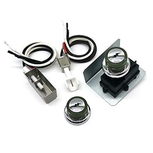 WEMEIKIT Universal Igniter Kit for Weber Genesis & Spirit Side-Control Grills 200 / 300 Series, as E/S-200 210 310 320 Ignitor Kit, 91360 67847 67726 Upgraded Ignition Replacement for Weber Gas Grill
