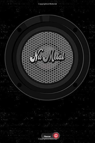 Nu Metal Planner: Boom Box Speaker Nu Metal Music Calendar 2020 - 6 x 9 inch 120 pages gift