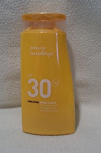 prowin sundays SUNLOTION SPF 30, 200 ml