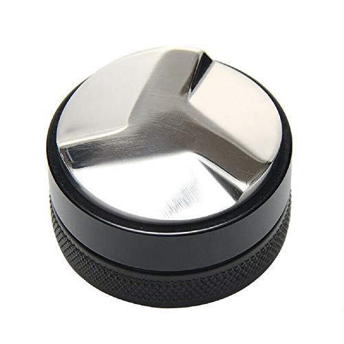 TIANTIAN 49 mm Kaffee-Verteiler, verstellbarer Verteiler, Nivellierer, Werkzeugtiefe, professionelle Espresso-HandTamper, passend für 49 mm Breville Siebträger