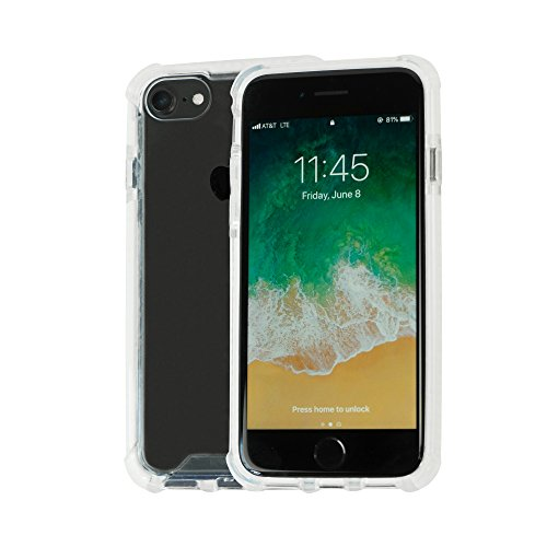 Idea Promo Clear Case Compatible for iPhone 6 | 6s | 7 | 7s | 8, Clear Case, Shock-Absorption and Anti Scratch, Slim, Heavy Duty Protective, Reinforced Conner and Rubber Bumper Shockproof