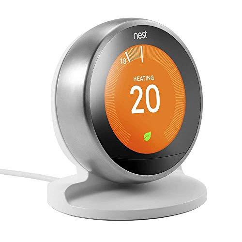 Supporto/staffa per supporto EEEKit per Nest Learning Thermostat, 3rd / 2nd Generation (Bianca)