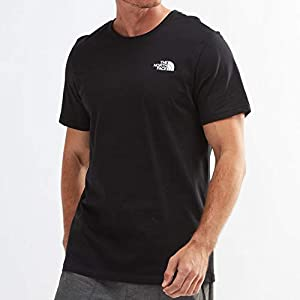 ザノースフェイス (THE NORTH FACE) 半袖 Tシャツ S/S SIMPLE DOME TEE シンプルドーム メンズ (TNF BLACK [黒], 海外 M [日本サイズ L 相当]) [並行輸入品]