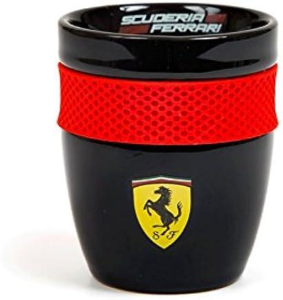 Preisvergleich für Ferrari Scuderia Formel 1Authentic 2018schwarz Scuderia Tasse w/Gummi Grip