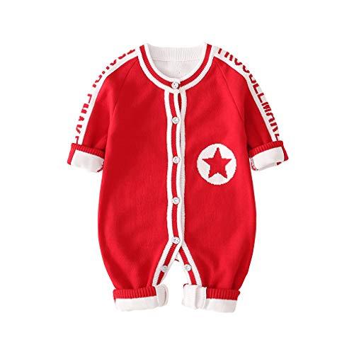 DorkasDE Baby Strampler Neugeborene Kleinkinder Strampleranzug Overall Cartoon Jumpsuit Babykleidung