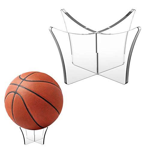 Augproveshak Basketball-Präsentationsständer, Acryl-Kugelständer-Displayhalter Für Basketball-Fußball-Volleyball-Bowlingkugel (ohne Bälle)