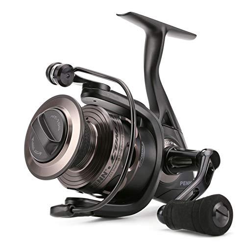 Reel de pesca giratorio - Original PE-NN CONFL-TIC C-FT 2000-8000 Full Metal...