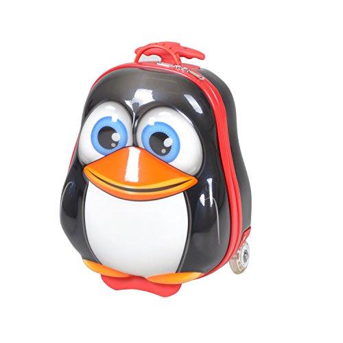 Knorrtoys 14509 Bouncie Trolley Pinguin Kindergepäck, 12 Liter, Mehrfarbig