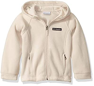Columbia Girls' Little Benton II Hoodie, Fawn, X-Small