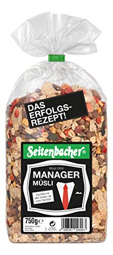 Seitenbacher Manager Müsli, 1er Pack (1 x 750 g)