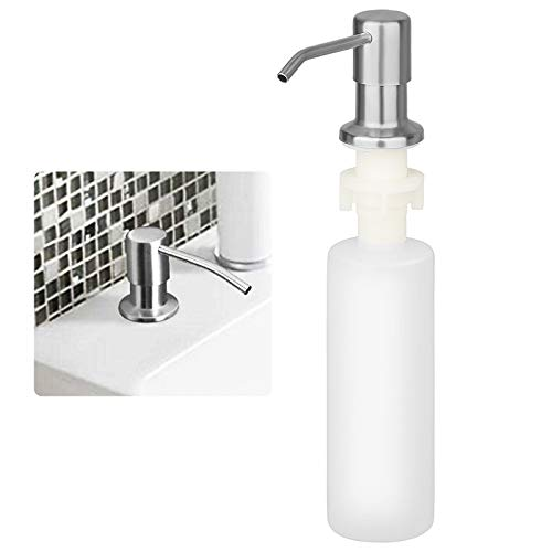 Linkstyle Kitchen Soap Dispenser Made of Stainless Steel, Built in 300ml...