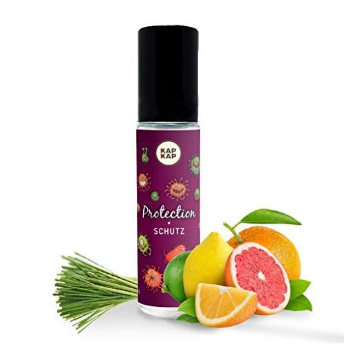 Bio Parfümöl für Kinder - Natürliches Aromaöl für Gesundheit - Parfüm aus zertifizierten organischen Öle von Zitrus und Eukalyptus - Mit Vitamin E, ohne Alkohol