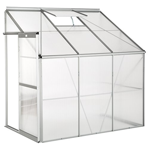 lean to greenhouse options