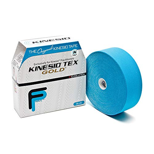 Kinseio Taping - Kinesiology Tape Tex Gold FP - Blue – 2 in. x31.5m...
