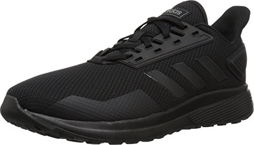 adidas Men's Duramo 9 Running Shoe, Black/Black/Black, 11 M US