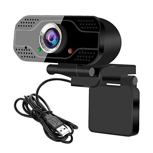 USB webcam Videoconferentiecamera 1080P Full HD Live streaming webcam met ingebouwde microfoon Computer camera voor bellen naar laptop en desktop, vergaderen, live streamen, online studeren