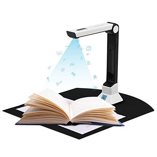 Scanner per fotocamera per insegnanti,scanner di documenti,scanner di documenti HD portatile,formato A4,scanner per fotocamera USB portatile per identificazione di file,insegnamento online e ufficio
