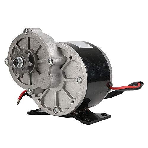 Demeras Reductor de Engranajes Motor eléctrico Cepillo DC Motors Reductor con piñón de 9 Dientes Cepillado DC Motors Reductor para E-Bike Reducción de Engranajes para 12V 250W E-Bike Scooter