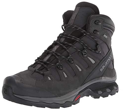 SALOMON Men's Quest 4d 3 GTX High Rise Hiking Boots, Gray (Phantom/Black/Quiet Shade), 9.5 UK