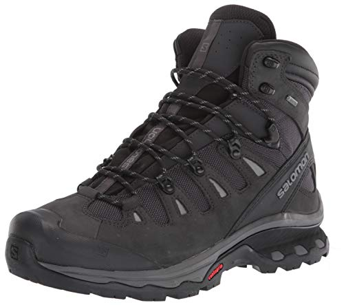 Salomon Men's Quest 4D 3 GTX Backpacking Boots, PHANTOM/Black/Quiet Shade, 12