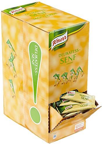 Knorr Delikatess-Senf Portionspackungen, 1er Pack (240 x 10 ml)