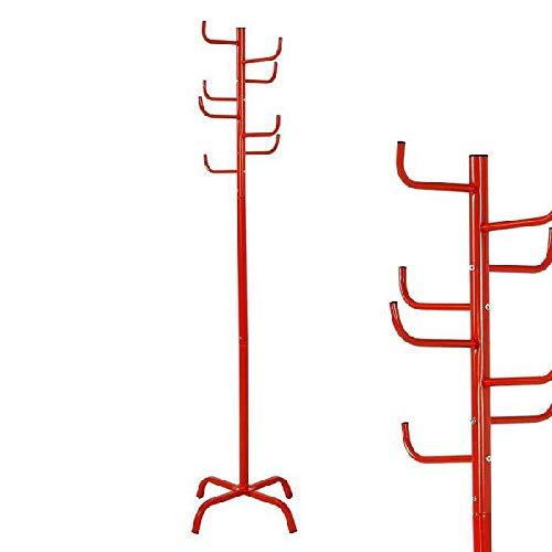 Dcasa Metal Cactus Cajas y percheros para Sombreros Almacenaje de Adornos Festivos Artículos para el hogar Unisex Adulto, Rojo (Rojo), única