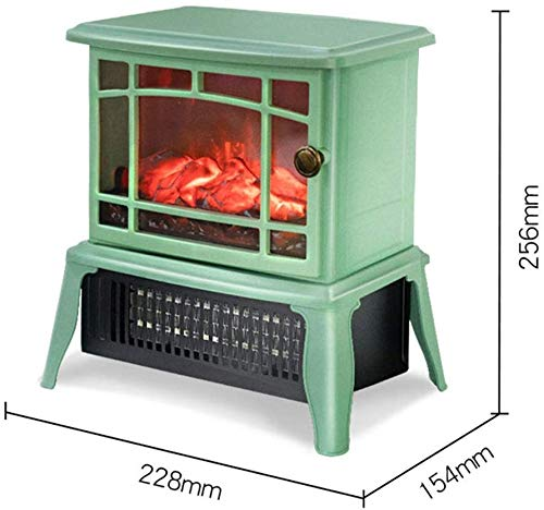 ZHUFU 1500W Electric Canterbury Fireplace Suite With Adjustable Thermostat Control, Safety Cut-Out System Realistic LED Flame Effect