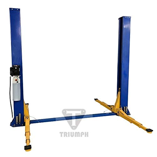 TRIUMPH NT9FP 9,000 lb Two Post Auto Lift Floor Plate Car Hoist Truck Jack Garage