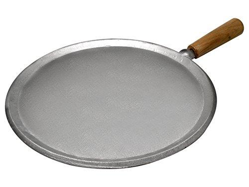 Home Pfanne für Piadina-Fladen, Aluminium, Silber, 29.5 cm