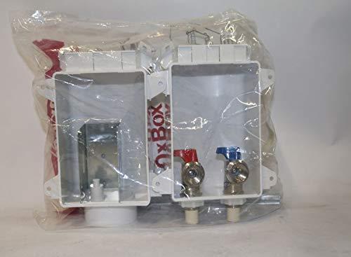 Sioux Chief 696-G2303CR 3/4' MHT 2 Valve Washing Machine Outlet Box