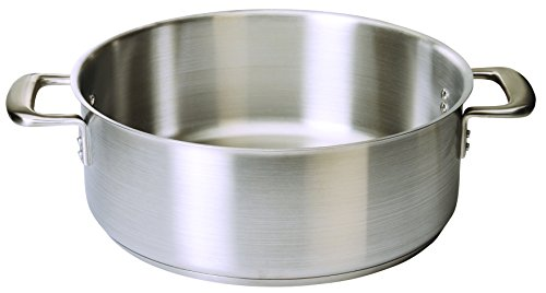 Update International CBR-08 8 Quart Braizer Without Cover, Stainless Steel
