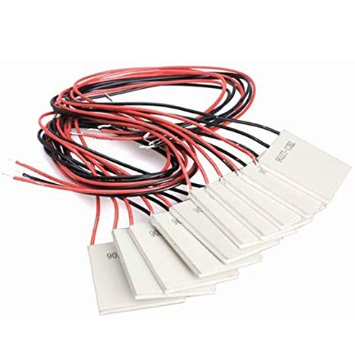 10Pcs TEC1-12706 Thermoelectric Cooler Heat Sink Cooling Peltier Plate Module 12V 5.8A