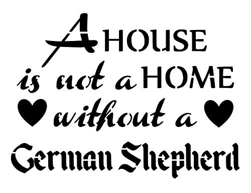 OFFicial site GERMAN SHEPHERD House Is Limited time cheap sale Not A Home Breed 8.5