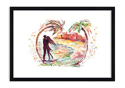ARTTOR Cadre Decoration Murale - Impression sur Toile. Toutes Tailles et Différents Thèmes Graphiques. pour la Chambre et Le Salon. Divers imprimés - F1BAA70x50-2989